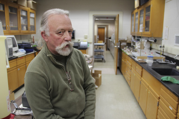Geologist and co-director of Penn State's Marcellus Center for Outreach and Research Mike Arthur.