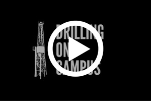 Graphic for the Drilling on Campus video.