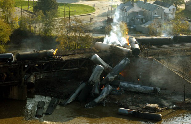 Rail cars moving crude oil need makeover