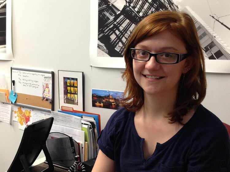 PublicSource intern Molly Duerig