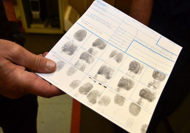 Fingerprinting sheet