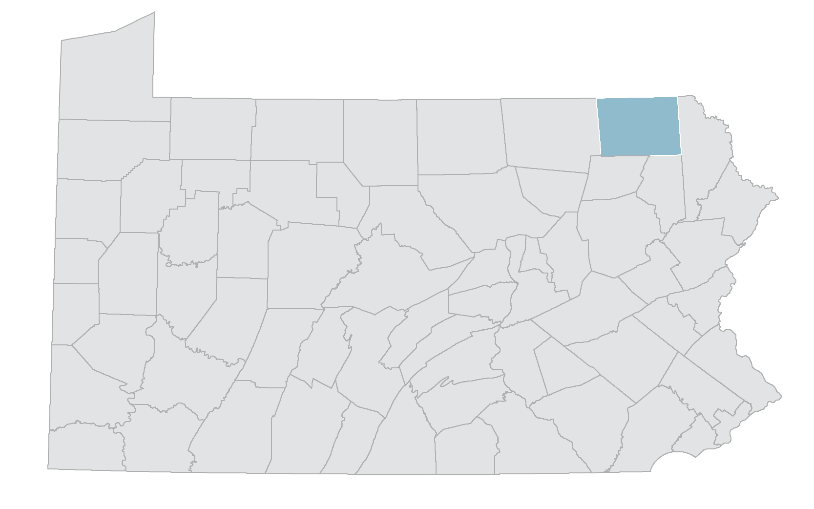 Northeast Energy Direct Project map