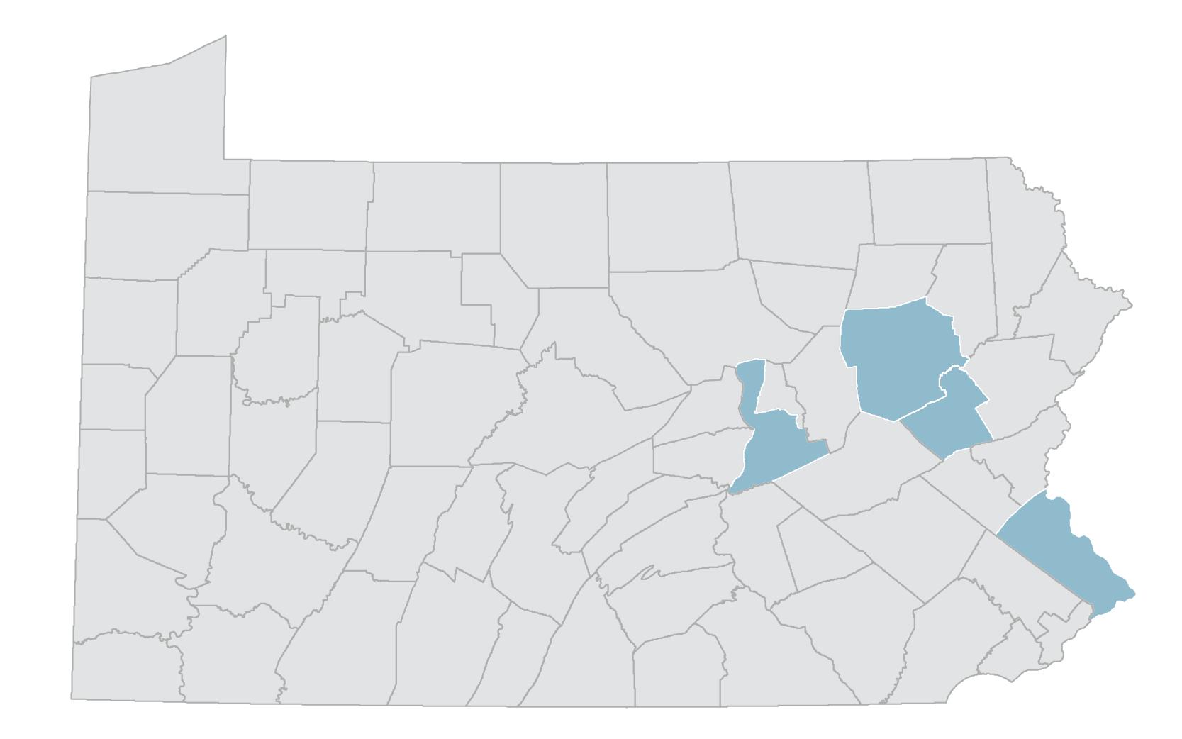 PennEast Pipeline map
