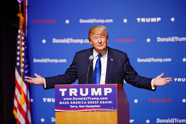 The usually unmasked President Donald Trump should not bring a campaign event to Allegheny County so soon after his COVID-19 diagnosis, according to County Executive Rich Fitzgerald. (File photo)
