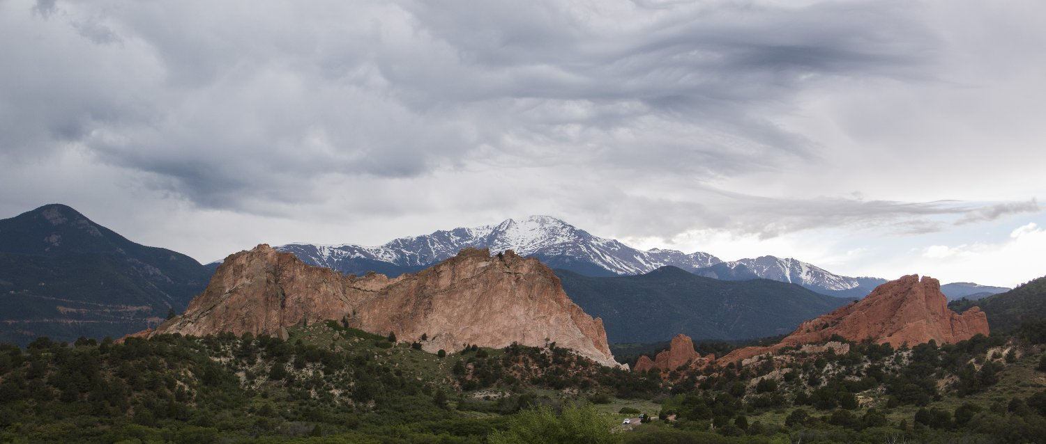Garden of the Gods is a public park in Colorado Springs, Colorado. (Photo by Nick Swyter)
