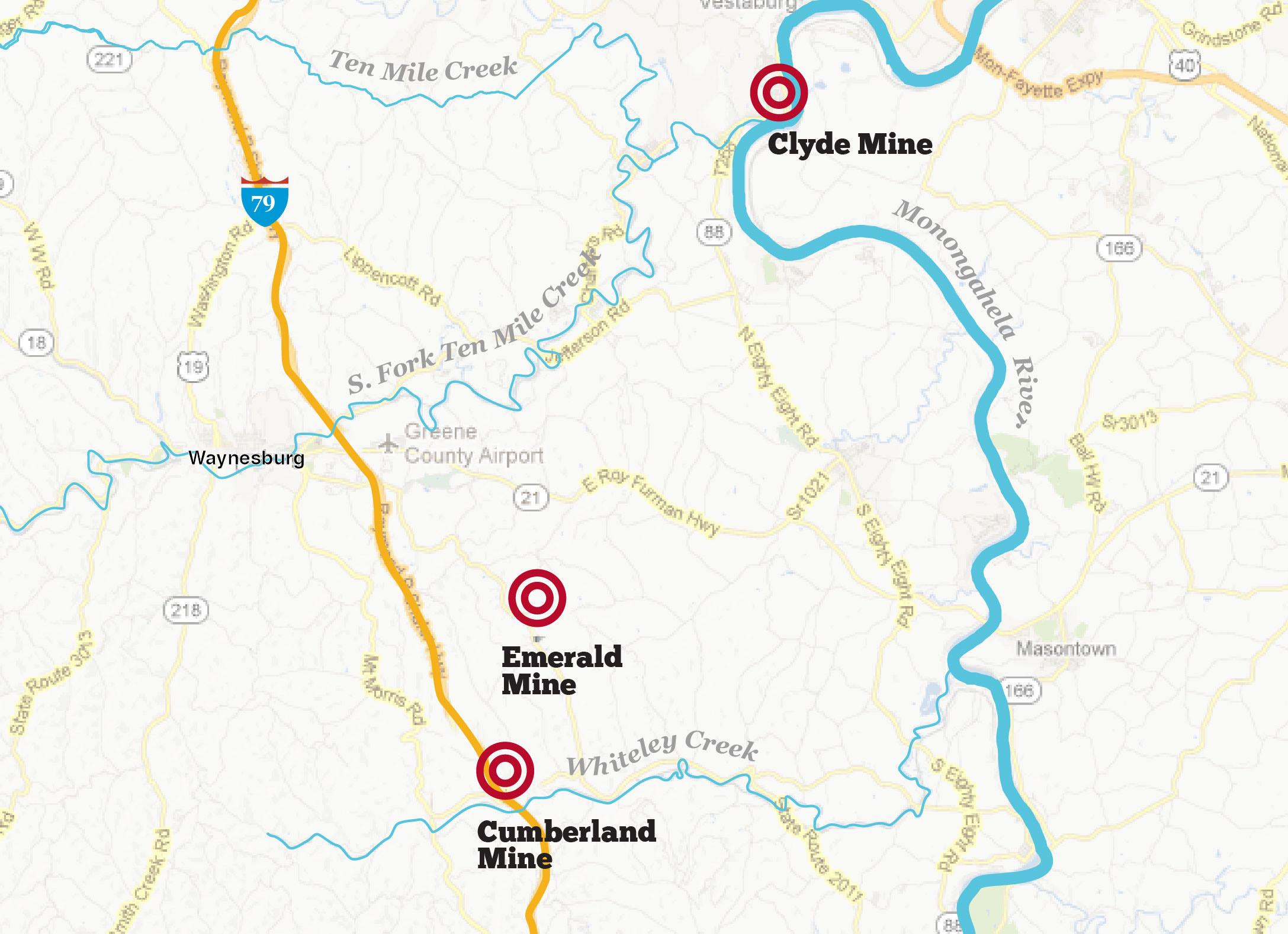 Water testing map