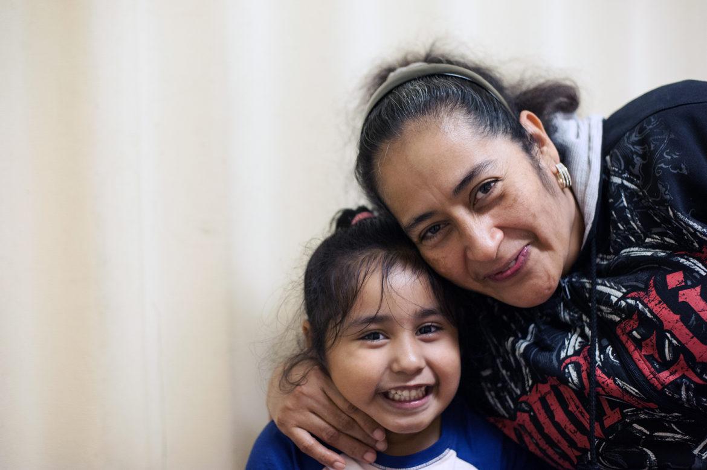 Maria Antonio and daughter