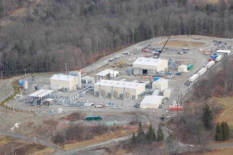 The Williams Central Compressor Station in Brooklyn Township, Pa., in Susquehanna County. (Photo by Vera Scroggins)