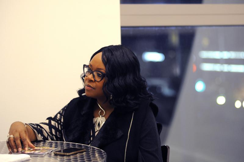 """Donna Baxter Porcher, the founder of SoulPitt.com, attended the """"Stand Up, Stand Out"""" event at the August Wilson Center."""