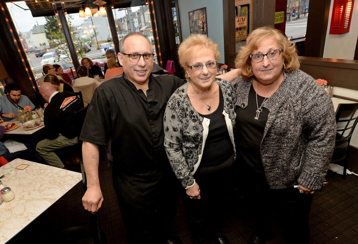 "A 2012 episode of the Food Network's ""Restaurant: Impossible"" focused on the rehabilitation of Del's Bar & Ristorante DelPizzo. However, Marianne DelPizzo (right) and the other owners, her brother, John, and their mother, Josephine, closed the business a few years later. (Copyright ©, Pittsburgh Post-Gazette, 2017, all rights reserved. Reprinted with permission.)"