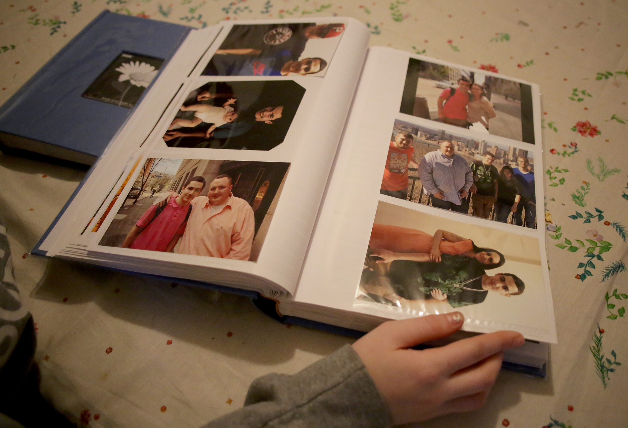 John Cassidy Davern's family put together this photo album of the teenager after his murder.