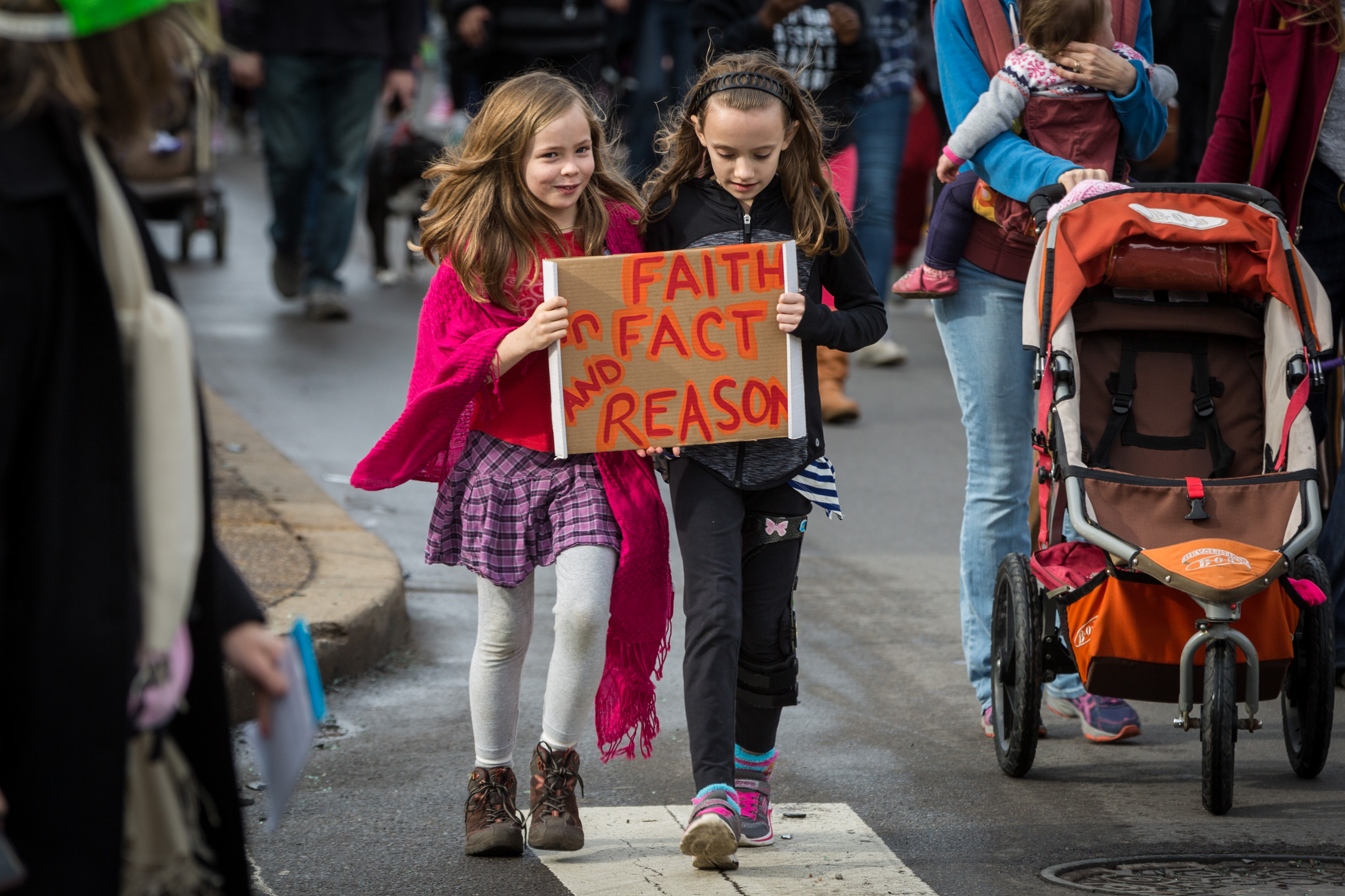 """Faith in Fact and Reason"" (Photo by Maranie Staab for PublicSource)"