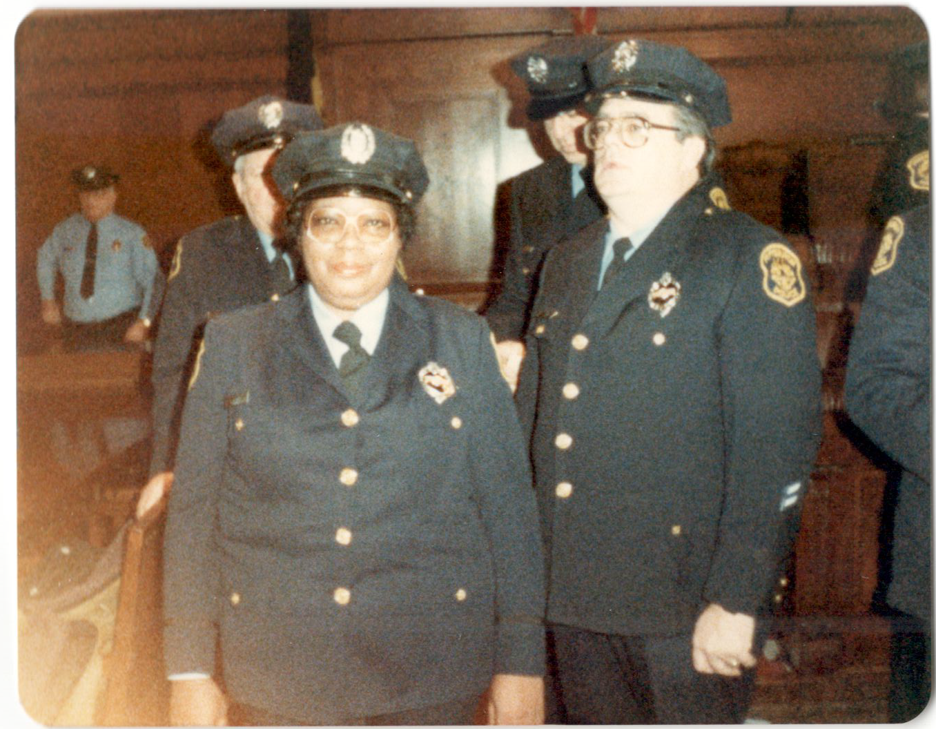 Gwen Elliott was among the first class of minority officers hired as a result of the 1975 court order that said the Pittsburgh police had to hire one black woman, one black man and one white woman for every white man it hired. (Photo courtesy of Kathi Elliott)