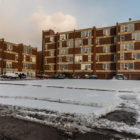 The Penn Plaza apartment complex in East Liberty. (Photo by Maranie Rae Staab/PublicSource)
