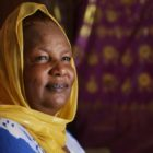 Fatuma Sharif has been in Pittsburgh for only 16 months, but she says it is home to her now. (Photo by Ryan Loew/PublicSource)