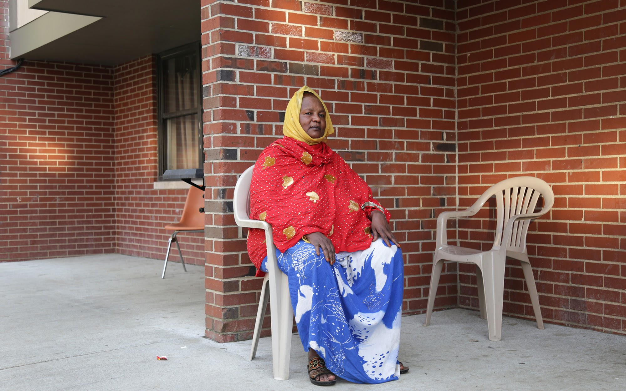 Fatuma Sharif's journey to Pittsburgh has been long, and her family's struggle is not over as she continues to fight for her adult children and grandchildren to join her. (Photo by Ryan Loew/PublicSource)