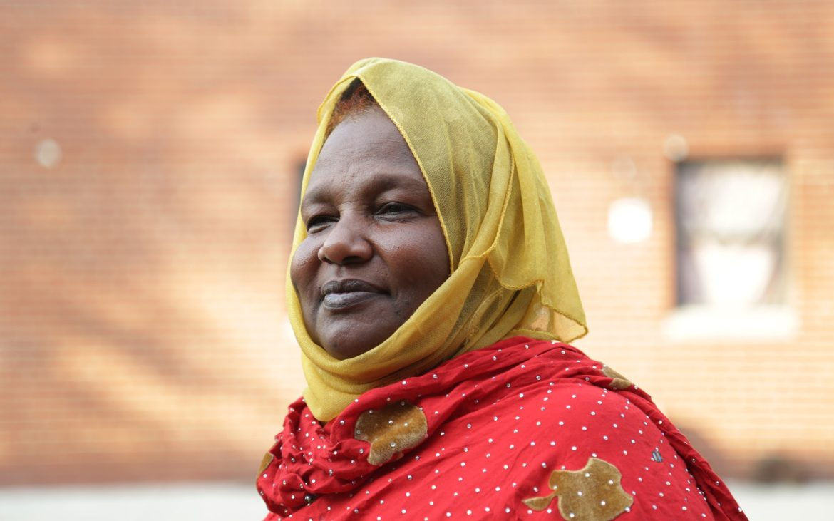 Fatuma Sharif arrived to Pittsburgh in January 2016. She is working to bring the rest of her children and grandchildren to safety in Pittsburgh as well. (Photo by Ryan Loew/PublicSource)