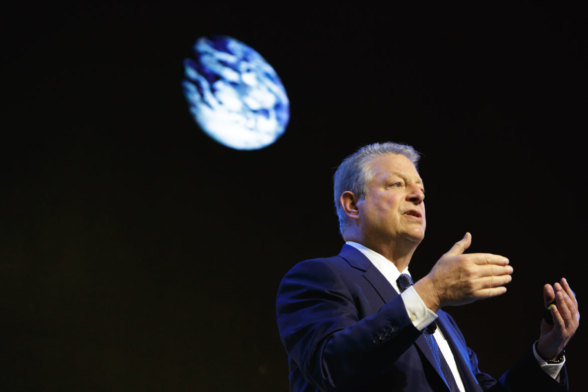 Gore's organization, The Climate Reality Project (CRP), will host its 36th leadership activist training session from Oct. 17 to 19 at the David L. Lawrence Convention Center.