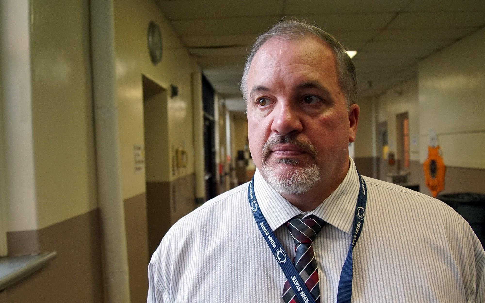 Steel Valley School District Superintendent Edward Wehrer. (Photo by Ryan Loew/PublicSource)