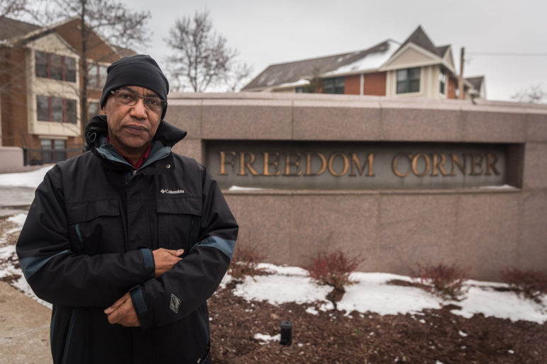 Carl Redwood is board chair of the Hill District Consensus Group and a longtime activist. (Photo by Maranie Rae Staab/PublicSource)