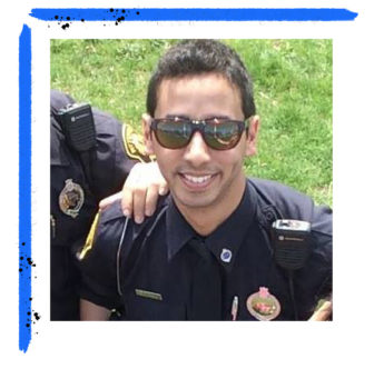 Pittsburgh Police Officer Souroth Chatterji. (Photo via Facebook)
