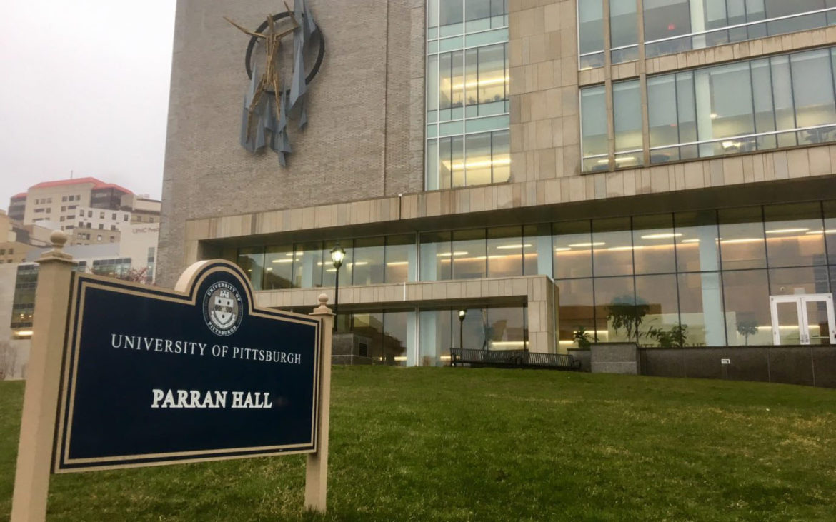 Dr. Thomas Parran Jr. is a public health icon with a legacy marred by unethical behavior. The University of Pittsburgh is considering if Parran Hall should be renamed. (Photo by Mila Sanina/PublicSource)