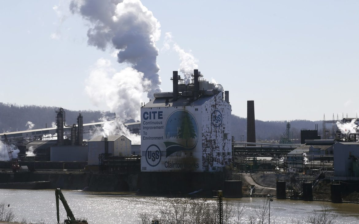US Steel's Clairton Coke Works (Photo by Ryan Loew/PublicSource)