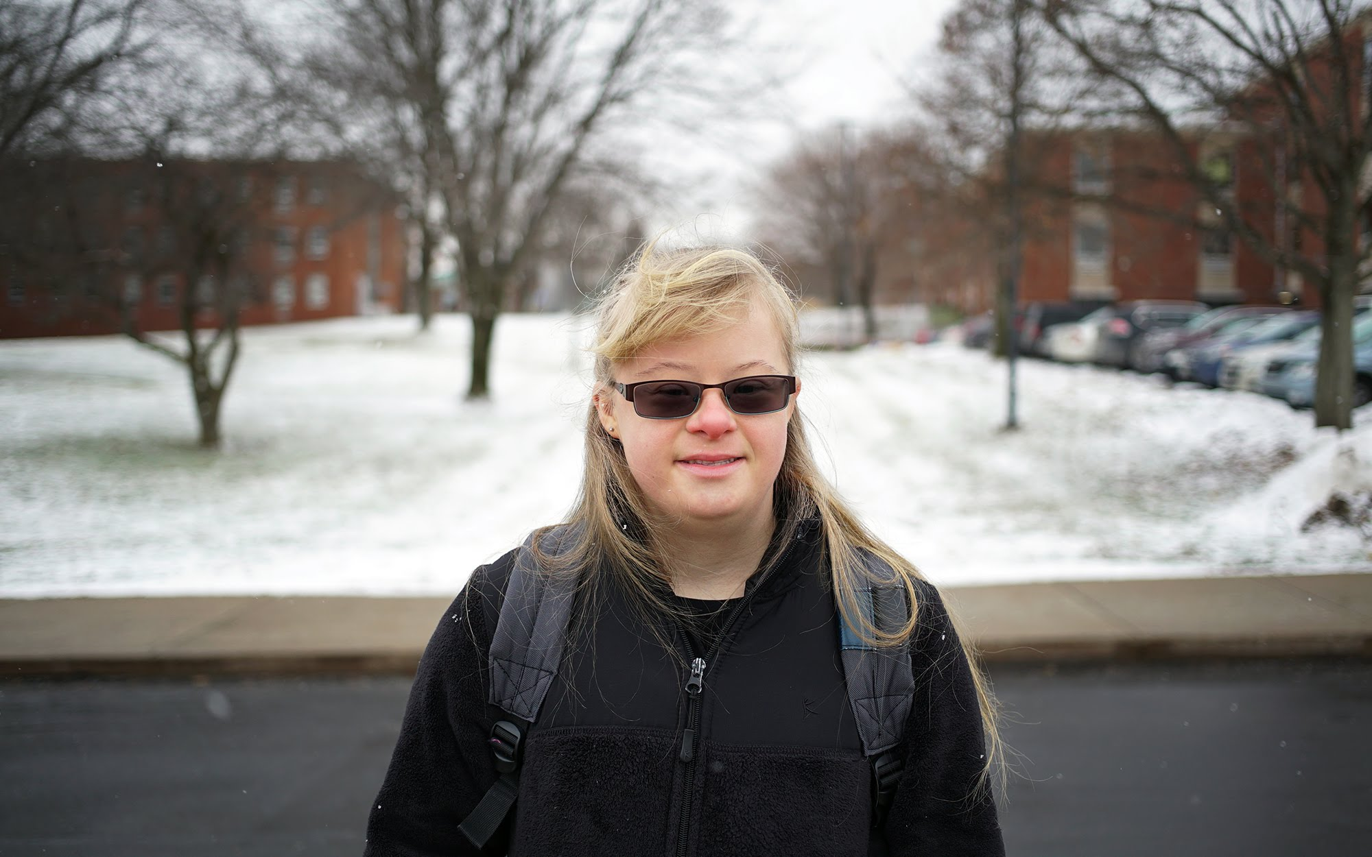 Nicolette Fenello, 21, is a second-year student at Slippery Rock University. (Photo by Ryan Loew/PublicSource)