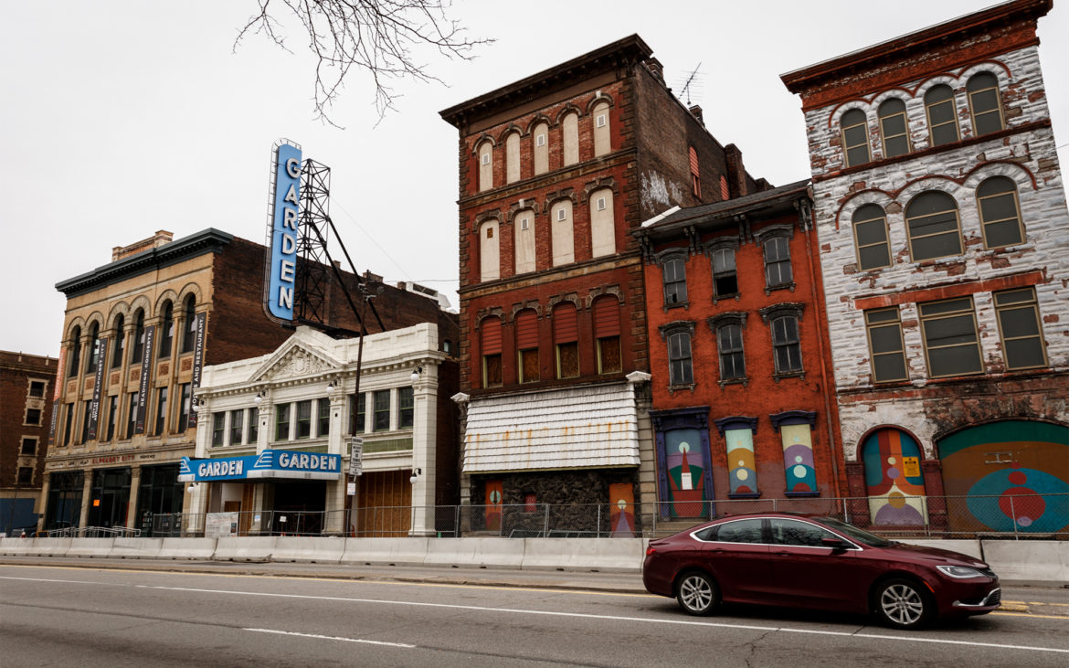 North Siders want the Garden Theater block to be developed. They ...