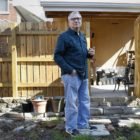 Angelo Norelli, 67, is one of more than 300 homeowners from Oakland and Uptown recruited for the Grassroots Green Homes program. (Photo by Ryan Loew/PublicSource)