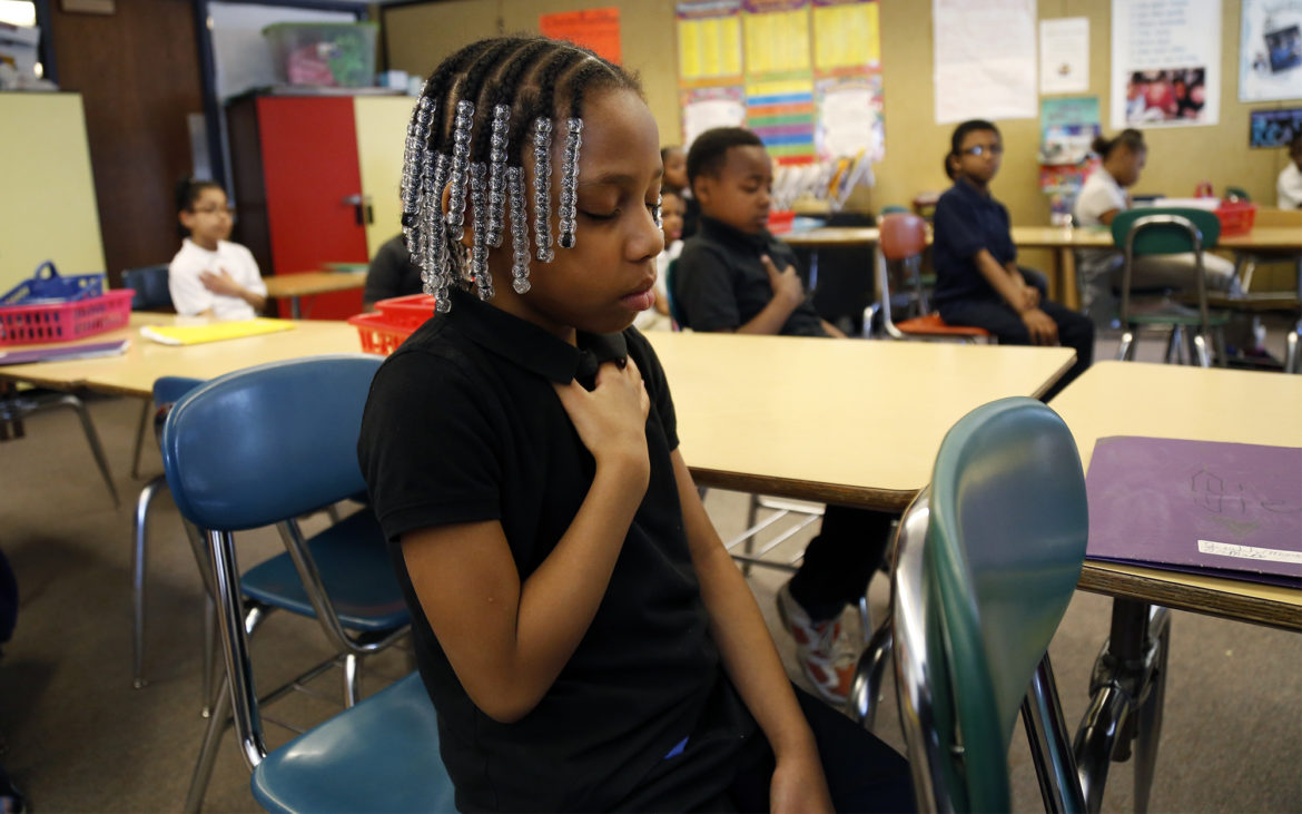 Is mindful meditation the new normal in some Pittsburgh-area schools