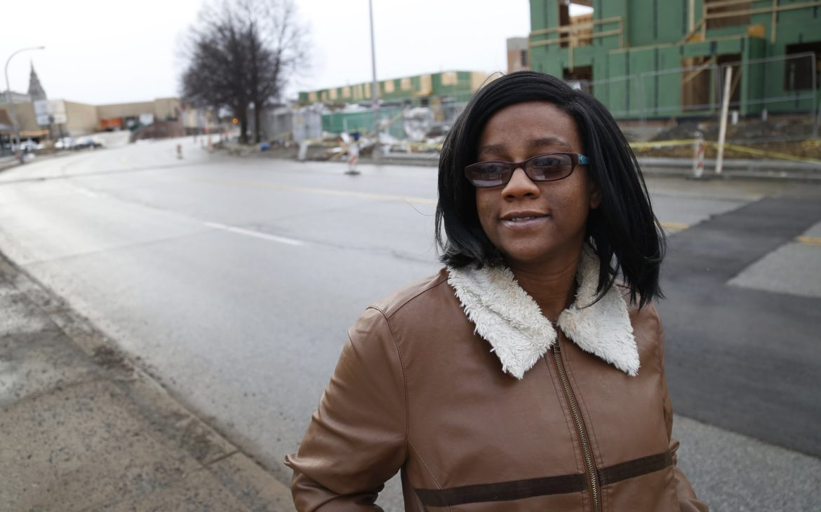 """We all want Pittsburgh to thrive,"" writes East Liberty resident Nila Payton. ""We all want to embrace change. But change that includes all of us means making sure plans actually address our needs."" (Photo by Ryan Loew/PublicSource)"