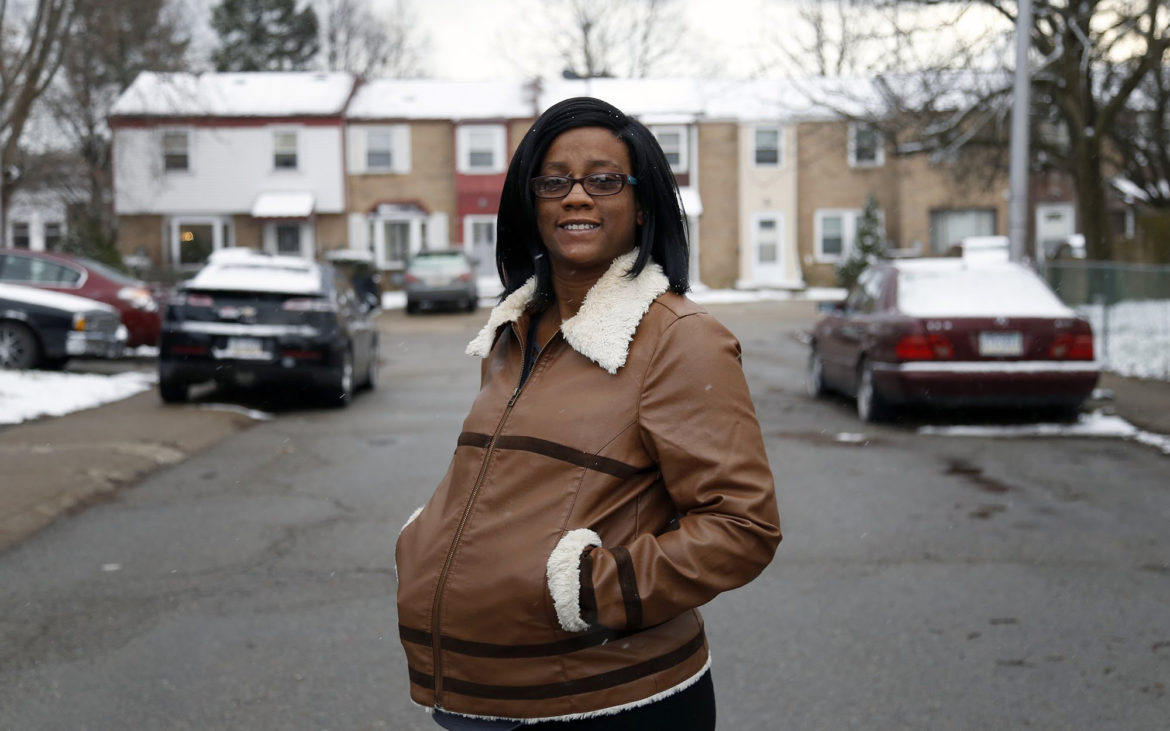 "Nila Payton, 37, has lived in East Liberty for most of her life. She writes that her decades in East Liberty have taught her that the approach of ""innovate now, worry about Black people later"" results in a better city for some – and harm to others. (Photo by Ryan Loew/PublicSource)"