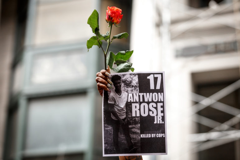 Photos: Activists demand justice for Antwon Rose Jr , an