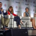 Mayor Bill Peduto spoke on a panel at ICLEE World Congress in Montreal with Janet Sanz, the deputy mayor of Barcelona, Spain; Veronica Arias, the environmental secretary of Quito, Ecuador; and Dr. Cathy Oke, a city councilor in Melbourne, Australia.