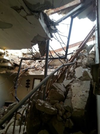 Mustafa's destroyed home in Ramadi. (Photo courtesy of Mustafa)