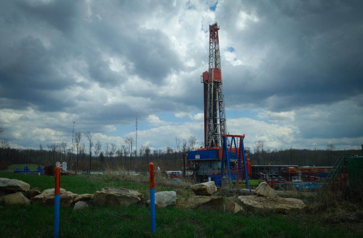 A Seneca Resources fracking operation. (Photo by Oliver Morrison/PublicSource)
