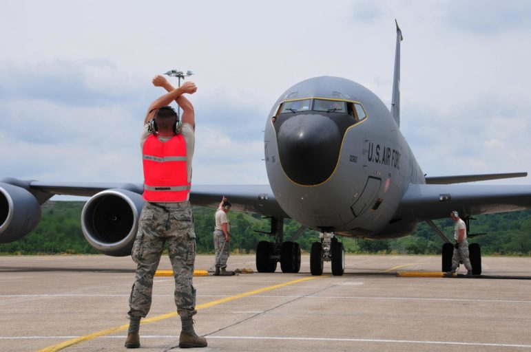 Members of the 171st Air Refueling Wing return from overseas June 18, 2011. The Pittsburgh Air National Guard base and Pittsburgh Air Reserve Station were among the sites added most recently to Pennsylvania's PFAS contamination list. (U.S. Air Force photo by Master Sgt. Ann Young)
