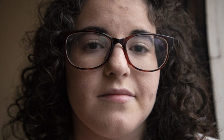 Jordana Rosenfeld didn't know her family's history of anti-Semitic violence until she was 23. It was never spoken of in her family. (Photo by Kat Procyk/PublicSource)