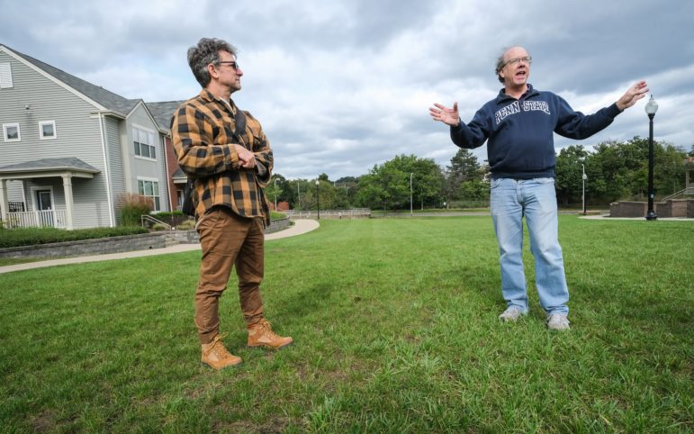 Ian Lipsky and John Stephens are working with neighborhood groups near the city's most deadly recent flooding disaster to bring an old stream back to life. They hope that when torrential rain comes, the water will flow into the Allegheny River instead of flooding.