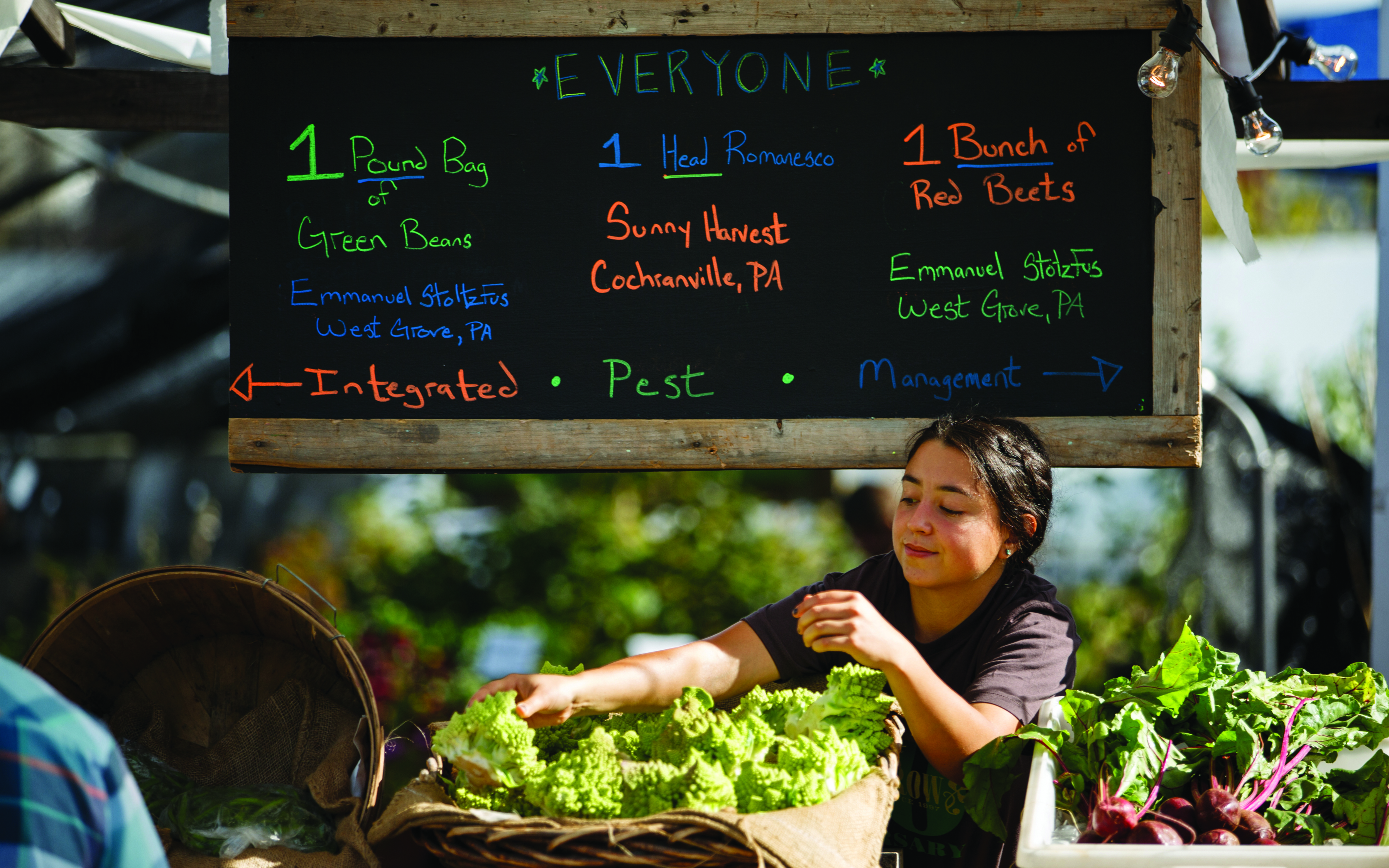 Greensgrow Farms in Philadelphia sells produce at its farmers market. (Photo courtesy of Greensgrow Farms)