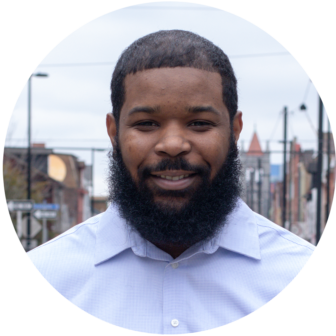 Joshua Malloy, community organizer with Pittsburghers for Public Transit. (Photo by Douglas Duerring)