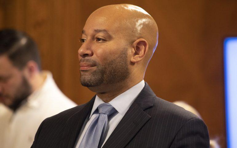 Councilman R. Daniel Lavelle, a URA board member. (Photo by Kat Procyk/PublicSource)