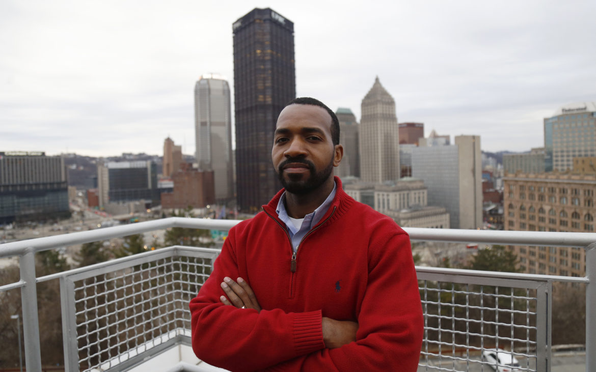 Derrick Tillman is president and CEO of Bridging the Gap Development. (Photo by Ryan Loew/PublicSource)