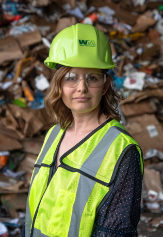 Waste Management spokesperson Erika Deyarmin-Young.
