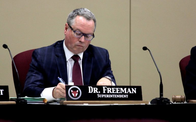 Fox Chapel Area School District Superintendent Gene Freeman. (Photo by Jay Manning/PublicSource)