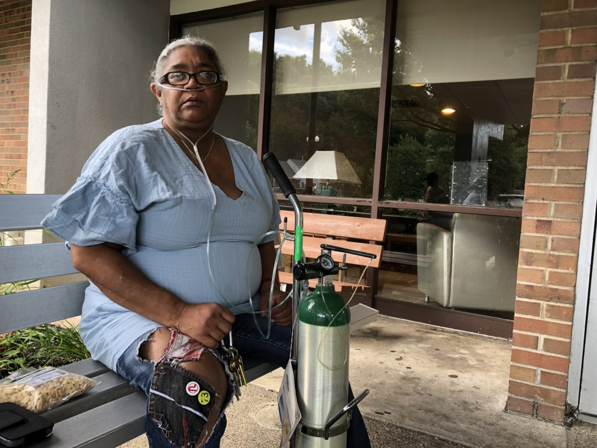 Terri Ward, treasurer of the Bernice Crawley Highrise Tenant Council, reached out to PublicSource about her building's bed bug problems. (Photo by Tom Lisi/PublicSource)