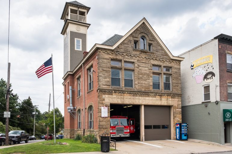 In August, the city completed an energy inventory of its 154 buildings and discovered that Firehouse 34 is one of the least efficient buildings in the city. Because Firehouses 22 and 34 use more energy per square foot than any other firehouse in the city, they are strong candidates for energy retrofits. (Photo by Terry Clark/PublicSource)