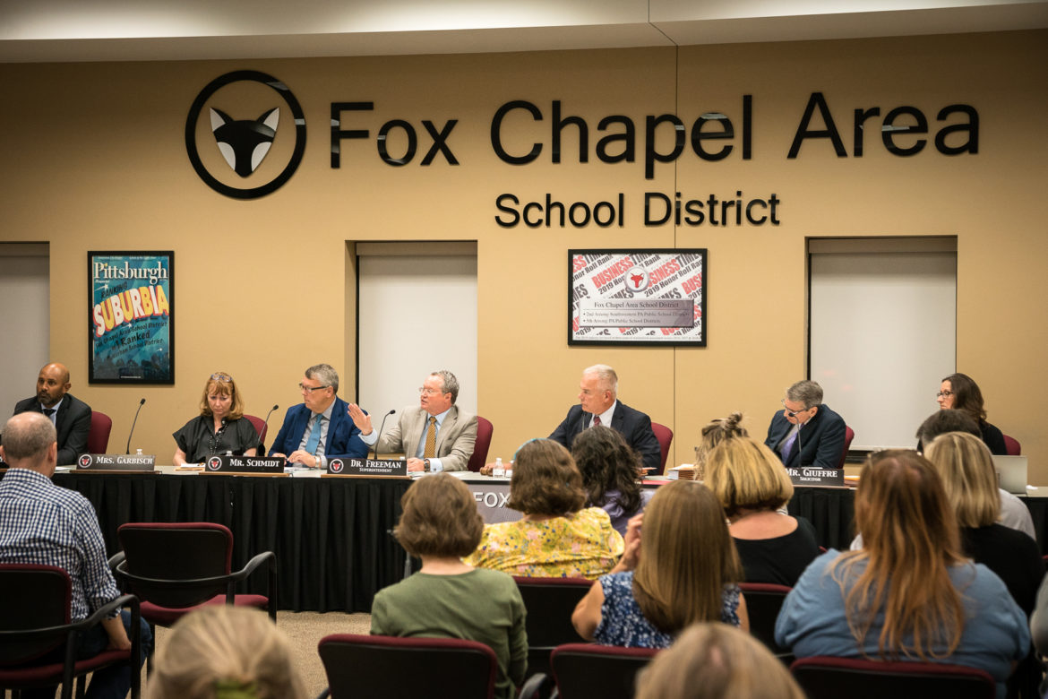 The shredding investigation at Fox Chapel school district