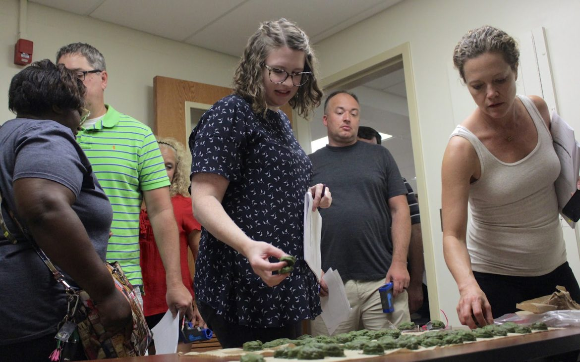 Pittsburgh teachers pick up model frogs to conduct climate change experiment at University of Pittsburgh